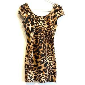 Forever 21 cheetah dress!